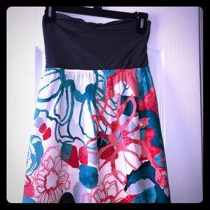 Roxy Strapless Sundress Size M